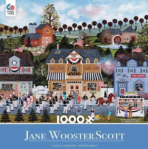 CEACO JIGSAW PUZZLE CELEBRATION OF AMERICA JANE WOOSTER SCOTT 1000 PCS #3346-14