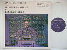 DAVID PATRICK PLAYS DURUFLE & VIERNE AT BUCKFAST ABBEY CATHEDRAL 867
