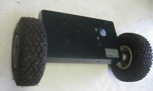 Craftsman Chipper Shredder 247775860 ENGINE FRAME WHEEL ASSEMBLY part 681-0184