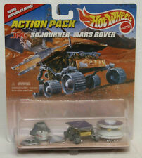 1996 HOT WHEELS ACTION PACK JPL SOJOURNER MARS ROVER TOY CARS