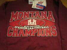 University of Montana Grizzlies National Champ Sweatshirt XL Joy Athletic #17