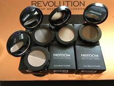 FREEDOM Professional Makeup DUO BROW POWDER Eyebrow 2 SHADES in 1 Compact Kit