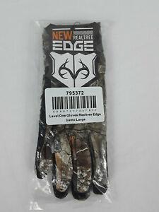 Hunter's Specialties Level 1 Ambush Realtree Edge Camo Hunting Gloves Sz L