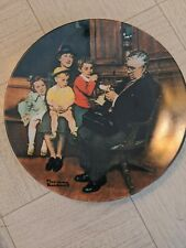 New ListingNorman Rockwell The Family Doctor Collectors Plate