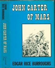 JOHN CARTER OF MARS - BURROUGHS - CANAVERAL PRESS - 1ST EDITION