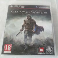 Middle Earth Shadow of Mordor PS3 Playstation 3 **FREE UK POSTAGE**