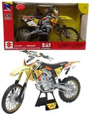 Modellini Motocross Moto Da Cross Suzuki RM-Z450 James Stewart PS 04743