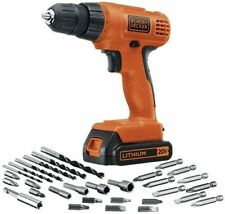 Power Tools Combo Set 20V Cordless Drill with 30-Piece Accessories for Home Diy
