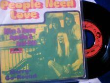 ABBA - PEOPLE NEED LOVE - RARE 7'' GERMANY - 1972 - MINT