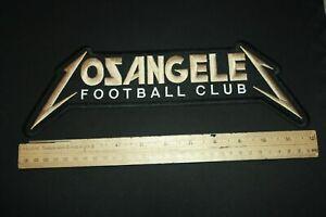LAFC PATCH METALLICA STYLE BACK PATCH huge JACKET VEST SHIRT SCARF KIT JERSEY