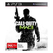 CALL OF DUTY MODERN WARFARE 3 (PS3 PLAYSTATION 3 AUS GAME)