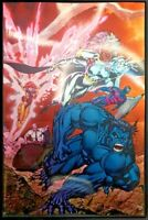 X-MEN #1 JIM LEE FOIL VARIANT NM STORM BEAST CLAREMONT JEAN GREY MARVEL COMICS