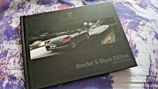 Porsche Boxster S Black 11/10 sales brochure 33 PGS Hardback
