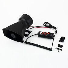 Loud Horn 12V Car Siren Auto Van Truck PA System 60W Max 300dB 5 Sounds tone FH3