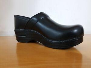 Dansko Professional Black Cabrio Women's Clogs  - NEW -  Choose Size & Width