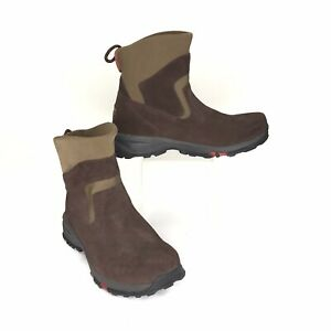 L.L. Bean Women's Boots Pull On Suede Upper Thinsulate Winter US Size 10