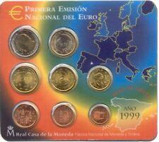 Spanje, Officiële Jaarlijkse BU Euro muntenset 1999 (MT775)