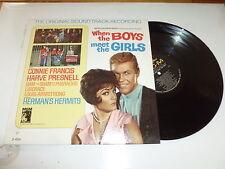 CONNIE FRANCIS - When The Boys Meet The Girls - 1966 USA 12-track mono LP