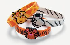 "Zoo Animal Bracelets (12 Pack) 8"" circ. Rubber"