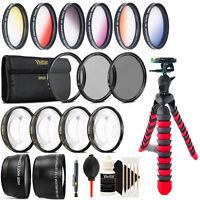 58mm Top Professional Lens Kit + Tripod for Canon EOS 70D 700D 800D 1200D 1300D