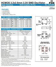 Quarz Quartz - Oszillator 24.576MHz 3.2 x 2.5mm SMD ... 4x