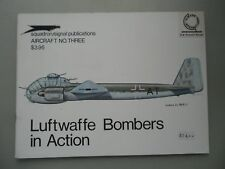 Luftwaffe Bombers in Action Aircraft No. Three Luftwaffe Junkers Ju 188 E-1