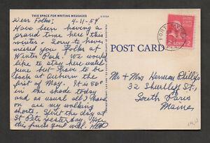 US #806 Arthur Murray Dance Studio & Fort Myers, Florida, 1954.