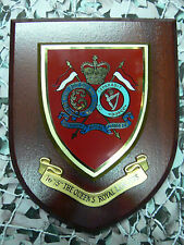 Regimental Plaque / Shield - 16th / 5th Queens Royal Lancers