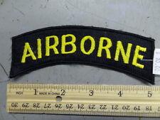 "LARGE AIRBORNE TAB - JACKET PATCH  - 5""       #USP151"