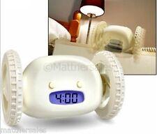Fun Novelty Runaway Alarm Clock - Great Fun Toy Game Gift Present