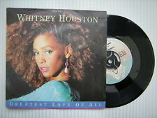 Whitney Houston - Greatest Love Of All / Thinking About You, Arista ARIST-658 Ex