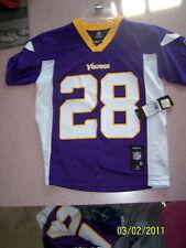Minnesota Vikings #28 Jersey-youth size XL(18-20)NWT