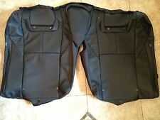 2013 Toyota Avalon Factory Original Black XLE REAR UPPER Seat Cover (Leather)