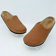 Birkenstock Birki's Brown Birko Flor Clog Mules Sandal Size 40 US L9 M7 Narrow