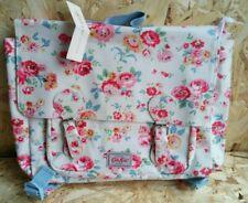 Cath Kidston Kids Wells Rose backpack satchel school book bag oil cloth BNWT