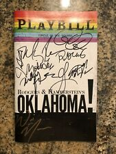 Oklahoma Revival Signed Pride Playbill