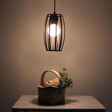 Black Ceiling Lights Kitchen LED Lamp Bar Vintage Pendant Light Hotel Chandelier