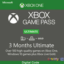 3 Month Xbox Game Pass Ultimate Xbox Live Key Xbox/Win 10 PC (Gold + Game pass)