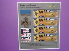 ASCENSION ISLAND: 2008 Centenary of UK Naval Aviation Sheet MNH  Sg1036/37