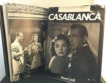 Casablanca (Hollywood Classics) 36x27 cm Collectable Book by Marie Cahill