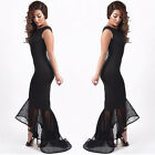 Womens Bodycon Cocktail Dresses Party Evening Cooktail Formal Mermaid Midi Dress