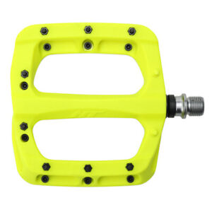 HT Pedals PA03A platform pedals, CrMo - neon yellow