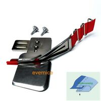 Sewing Machine Bias Braid Plain Tape Binder Folder Attachment With Tape Guide