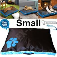 New Waterproof Dog Bed Heavy Duty Cover SOFT Washable Puppy Pet Cushion Mattress