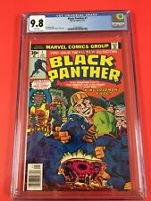 BLACK  PANTHER  #  1  CGC 9.8  1st BLACK  PANTHER 1977 WHITE PAGES GORGEOUS KEY