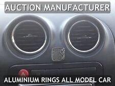 Pour Seat Cordoba 2002-2010 4x Anneaux Pour Ventilation Aluminium de polissage