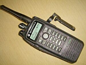 Motorola DP3600 UHF 403-470MHz DMR with battery, beltclip & antenna