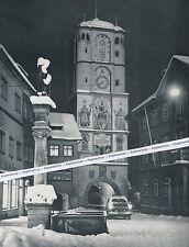 Guance in Algovia-RAVENSBURGER Cancello in inverno-per 1960-o 3-1