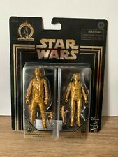 Star Wars Commemorative Han Solo and Princess Leia - 2 Pack - NEW