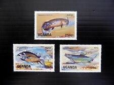 UGANDA Wholesale 1985 Lake Fish (3) U/M x 20 of Each NEW PRICE FP8395